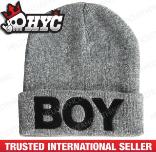 BOY London beanie as worn by Rhianna boy hat cap snapback