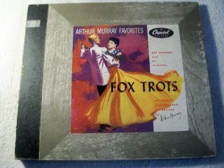 & ORCHESTRA Fox Trots Album for Dancing Capitol Album No. CD 258