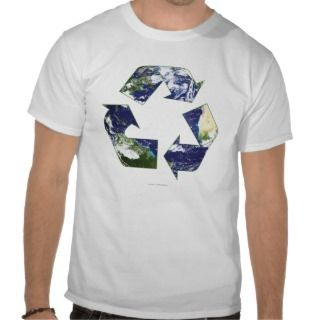 Earth   Recycling T shirt