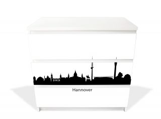 autumn leafs decal for ikea malm dresser 6 drawers. Black Bedroom Furniture Sets. Home Design Ideas