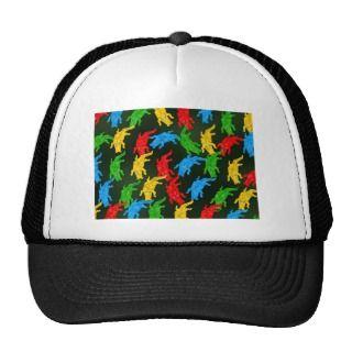 Gator Wallpaper Trucker Hats