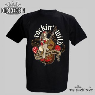 King Kerosin T Shirt   Rockin Wild