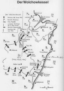 Kesselschlacht Wolchow 291. Inf. Division Wehrmacht WW2