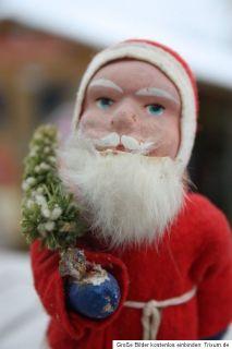 Weihnachtsmann Figur Santa Claus Christmas URALT Reklame Schokolade