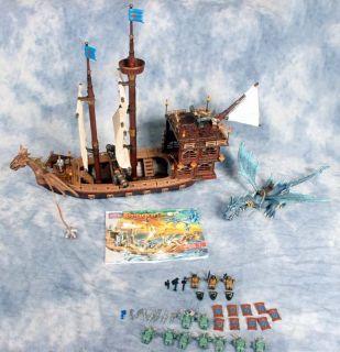 Mega Bloks Dragons Krystal Wars Ship Man O War Play Set, Minifigures