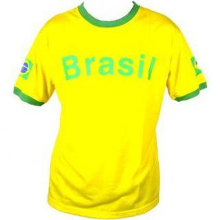 Fan T Shirt Brasilien Brazil Trikot[T204] Bekleidung