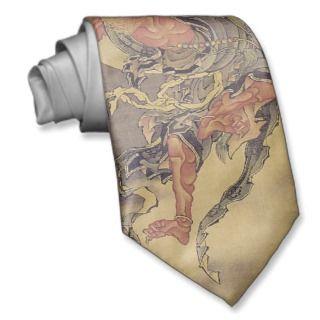 Hokusai   Mythological Demon Tie