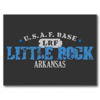 Air Force Base   Little Rock, Arkansas Postcard