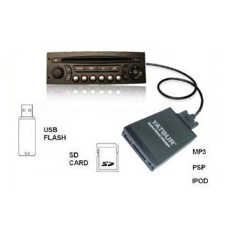 Peugeot 106 206 +CC Citroen RD3 DMC USB SD AUX Adapter Interface