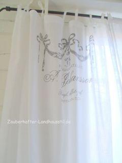 LYNN**Vorhang*Deko Gardine*120x240*Shabby Chic*Vintage Style