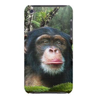 Chimpanzee Grea Ape Wildlife Animal Phone Case Barely here iPod
