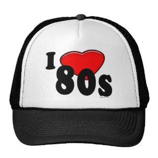 Love 80s Hat