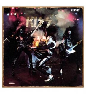 Kiss Alive Album Cover Metal Sign *New*
