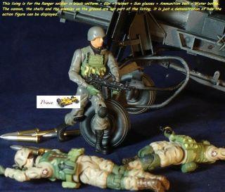 CF Wehrmacht 118 US Ranger Batalion M249 Gun Figur 18_G