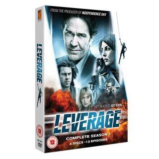 LEVERAGE COMPLETE SEASON 1 *4 DVD BOX *NEUWARE
