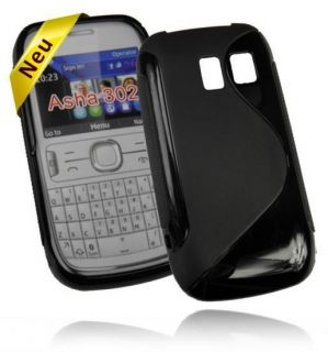 Silikon Case für Nokia Asha 302 handy Tasche Schutzhülle Silicon
