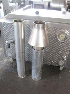 Bastra Typ 110, 400 L Edelstahl Gas  Kessel, Kesselanlage, Kochkessel