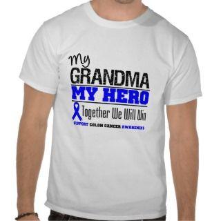 My Grandma, My Hero Colon Cancer Shirts