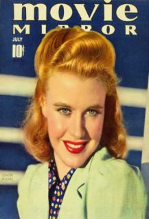 Ginger Rogers   Movie Mirror Magazine Cover 1930s Masterprint
