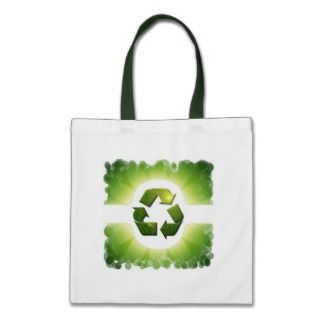 Environmental Issues Small Canvas Bag