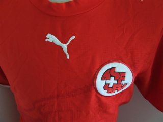 Trikot Schweiz 2006/07 (L) Home Puma Switzerland Shirt Maglia Suisse