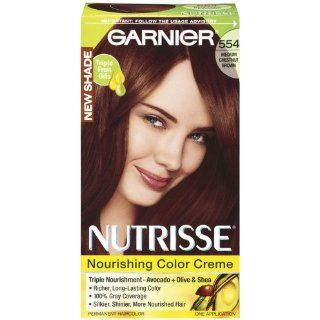 Garnier Nutrisse 554 Medium Chestnut Brown (Haarfarbe)