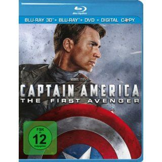 Captain America + Blu ray + DVD Blu ray 3D Limited Edition