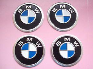 BMW 4 er Set 60mm Aufkleber Emblem Felgenaufkleber Logo