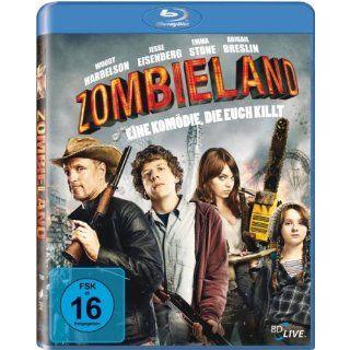 Zombieland [Blu ray] Jesse Eisenberg, Woody Harrelson