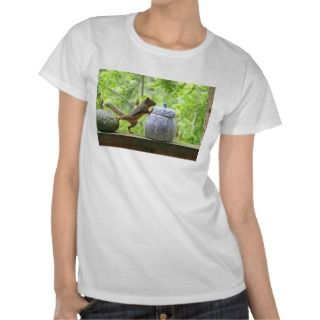 Squirrel and Cookie Jar T shirts