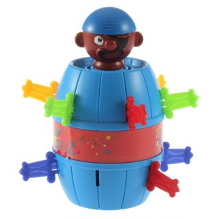 neu Funny Lucky Stab Pop Up Toy Gadget Pirate Barrel Game Pirate