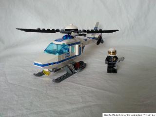 Lego City Polizei riesen Set Hubschrauber Auto ect. 7741 , 7235 , 7236