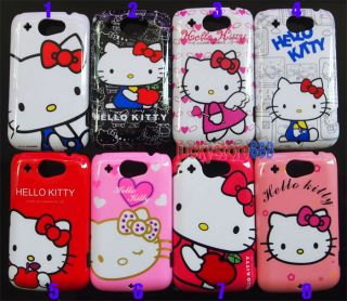Hello Kitty Hard Back Cover Skin Case for HTC Wildfire G8