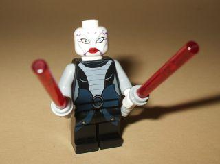 Lego sw318 (NEU) Star Wars Figur Asajj Ventress aus 7957