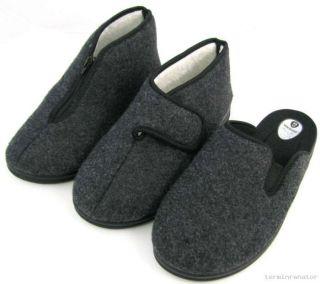 Warme Herren Hausschuhe Pantoffel Schuhe gefüttert Pantoletten