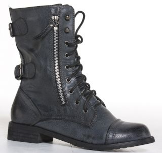 MILITARY BOOTS WOMENS ARMY LADIES WORKER BOOTS SIZE 6