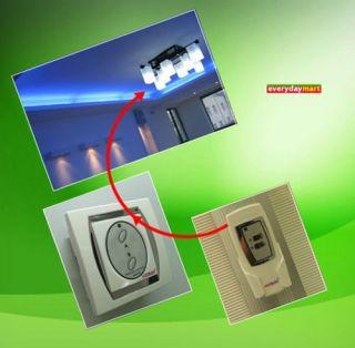 Funk Schalter Fernbedienung für Lüster Lampe 2 Modi OVP