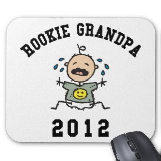 New Rookie Grandpa 2012 Mouse Pad