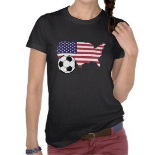 Futbol Pride   Spirit   USA Tee Shirt