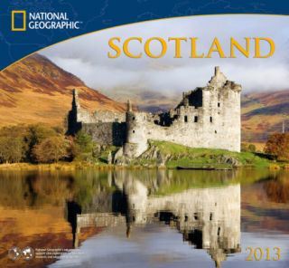 National Geographic Scotland   2013 Calendar Calendars