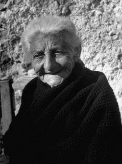 90 Year Old Gypsy Carmen Maya Premium Photographic Print