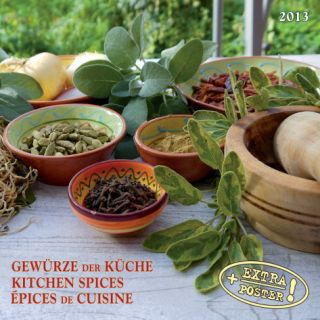 Food & Spices   2013 Wall Calendar Calendars