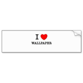 Love Wallpaper Bumper Sticker