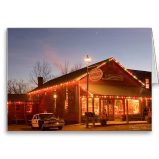 Leipers Fork Tennessee at Christmas   Card