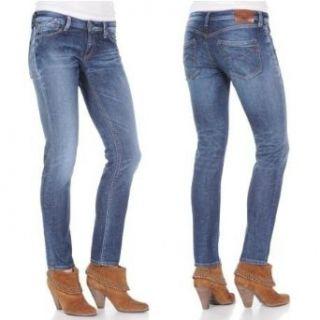 Replay Damen Jeans Rockxanne WV521C.247.650 Slim Fit light blue