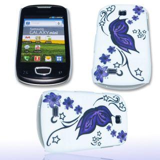 Handy Tasche Hard Case Cover JG Design f. Samsung S5570 Galaxy Mini