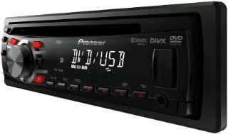 Pioneer DVH 330UB 1 DIN DVD RDS Tuner (4x50 W MOSFET, AUX In, iPod