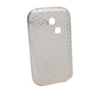 Case Schutzhuelle fuer Samsung Chat 335 S3350 Diamond Transparent T