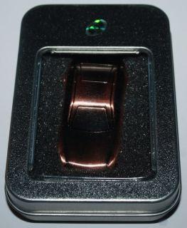 USB Stick Speicherstick 8 GB 8GB Auto Car Rennauto Metall Bronze NEU