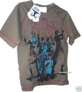 Star Wars   Clone Wars T SHIRT  grau, versch. Grössen